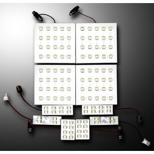 LS-LINE アクト ルームランプ LED ハイエース HIACE 200 GRANDCABIN 3CHIP|goldrush-store