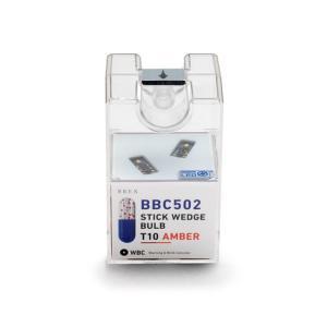 BREX ブレックス ledバルブ スティックウェッジバルブT10アンバー BBC502|goldrush-store