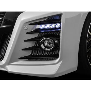 アドミレイション ベルタ 30 アルファード 前期 LED スポット KIT 4連 [LED: ブルー ] ABS製クロームベース|goldrush-store
