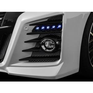 アドミレイション ベルタ 30 アルファード 前期 LED スポット KIT 5連 [LED: ホワイト ] FRP製素地ベース 未塗装|goldrush-store