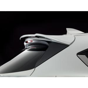 アドミレイション ベルタ CX-5 ( CX 5 ) KF リヤ ルーフ ウイング スノーフレイクホワイトパールマイカ 25D 単色|goldrush-store