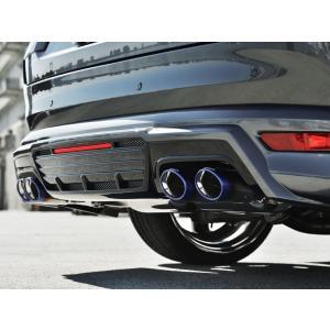 アドミレイション ベルタ CX-8 ( CX 8 ) KG エグゼクティブマフラー 左右4本出し Vテール (スライド式) ※ディーゼル車専用 goldrush-store