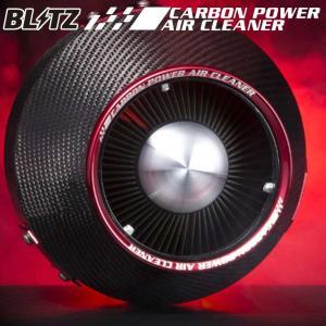 BLITZ ブリッツ CARBON POWER AIR CLEANER 型番: 35002  カーボンパワー コアタイプエアクリーナー A1Cコア用 クーリングシールド goldrush-store