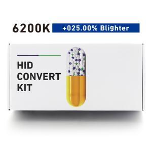 BREX ブレックス HID H1 6200K +025.00% ブライター コンバートキット BYC315|goldrush-store