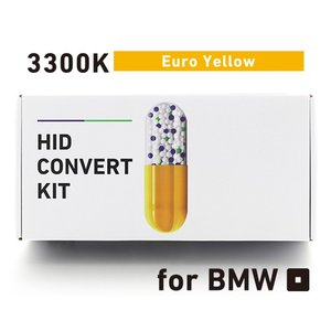 BREX ブレックス ledバルブ HID H8/11 3300K ユーロ イエロー コンバートキット for BMW BYC322|goldrush-store