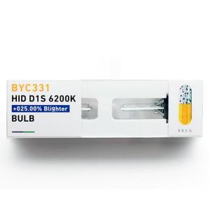 BREX ブレックス HID D1S 6200K +025.00%ブライターバルブ BYC331|goldrush-store