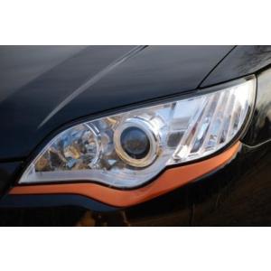 CTI レガシィ BP BL D型〜 (2.0GT 2.0R 2.0i) チークライン FRP オレンジ塗装 Ver.2|goldrush-store