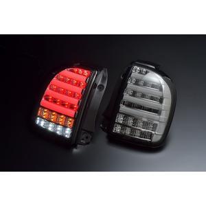 クリアワールド HE22S ラパン チューブフル LEDテールランプ スモークレンズ|goldrush-store