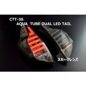 クリアワールド アクア HP10 チューブ デュアル LEDテール スモークレンズ|goldrush-store