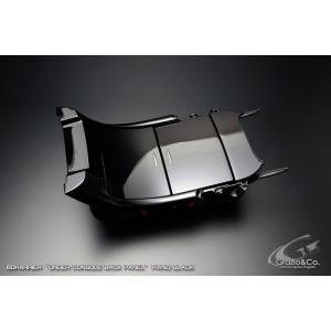 Grazio グラージオ 60系 ハリアー 後期用 アンダーコンソールバックパネル ピアノブラック ※全グレード共通|goldrush-store
