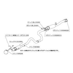 柿本 マフラー ホンダ シビック タイプR 〈E/GF-EK9〉 H11309|goldrush-store