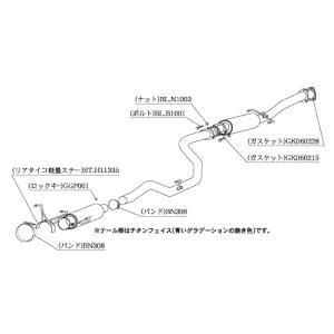 柿本 マフラー ホンダ インテグラ タイプR 2ドア 〈E/GF-DC2〉 H11335|goldrush-store