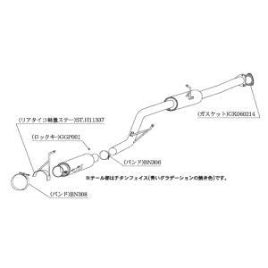 柿本 マフラー ホンダ S2000 〈GH/LA/ABA-AP1〉 H11337|goldrush-store