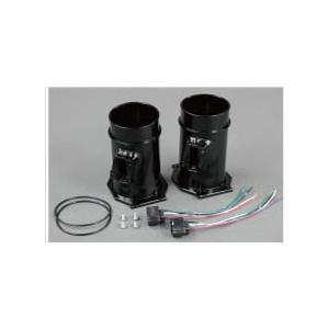 HPI R35エアフロアダプター アルミパイプ&ハーネスセット RB26 エアフロタイプ BCNR33/BNR34 HPAFAD-RB26HBK ブラックアルマイト 1セット|goldrush-store