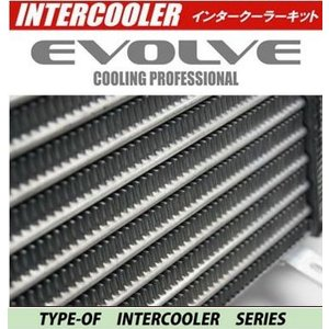 HPI EVOLVE インタークーラーキット 72mm 厚 TYPE-OF ランサーエボ 9 CT9A HPIC-MI0602 ホースバンド シリコンホース ( ブラック )|goldrush-store