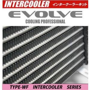 HPI EVOLVE インタークーラーキット 72mm 厚 TYPE-WF ランサーエボ 6 CN9A/CP9A HPICE-MI0304 スプリングクランプ シリコンホース ( ブラック )|goldrush-store