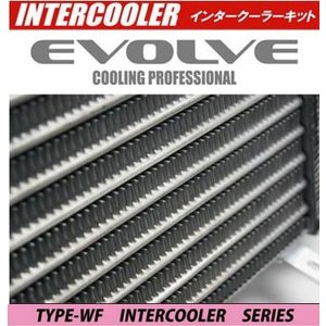 HPI EVOLVE インタークーラーキット 72mm 厚 TYPE-WF ランサーエボ 8 CT9A HPICE-MI0504 スプリングクランプ シリコンホース ( ブラック )|goldrush-store