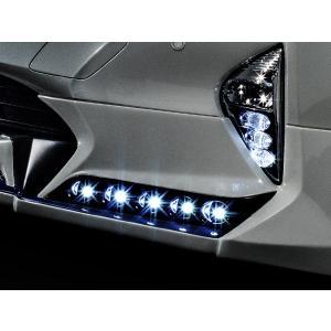 アドミレイション ハイブリッド 50 プリウス LED スポット 5連 [LED: ブルー ] ※フロントハーフスポイラー用|goldrush-store