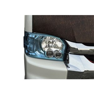 LEGANCE レガンス 200系ハイエース 4型 カラーインナーLOOKヘッドライトカバー スカイブルー ワイド・ナロー|goldrush-store
