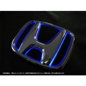 Junack ジュナック LED トランス エンブレム ホンダ LTE-H2 スリムラインver オデッセイ RC1 RC2 フロント|goldrush-store