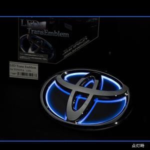 Junack ジュナック LED トランス エンブレム トヨタ LTE-T2S アルファード ヴェルファイア 20 30 リア リヤ|goldrush-store