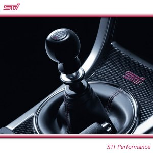 SUBARU スバル  STI パーツ WRX STI 型式 VA シフトノブ ( ジュラコンR ) 6MT SG117VA000 スバル純正|goldrush-store