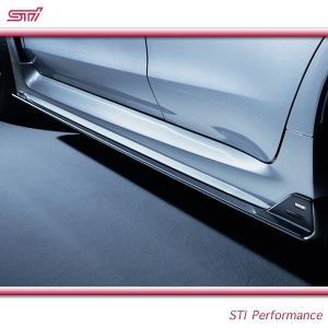SUBARU スバル  STI パーツ WRX S4 型式 VA サイドアンダースポイラー SG517VA100 スバル純正|goldrush-store