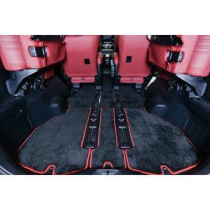 シックスセンス 80 VOXY ヴォクシー 後期 フロアマット ブラック × セミオーダーモデル|goldrush-store