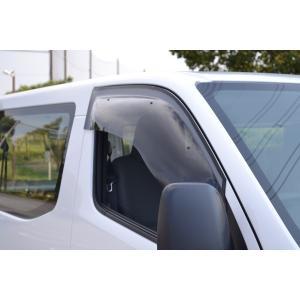 ドアバイザー OXバイザー スポーティーカット NV350 キャラバン E26 sp-92 フロント|goldrush-store
