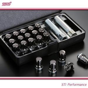 SUBARU スバル STI パーツ LEVORG レヴォーグ 型式 VM セキュリティ ホイールナットセット ST28170ST060 ガンメタリック|goldrush-store