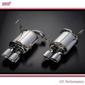 SUBARU スバル  STI パーツ WRX STI 型式 VA パフォーマンスマフラー (低背圧) ST44300VV030|goldrush-store