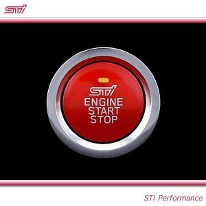 SUBARU スバル  STI パーツ フォレスター 型式 SJ プッシュエンジンスイッチ ST83031ST041 キーレスアクセス&プッシュスタート装着車用|goldrush-store