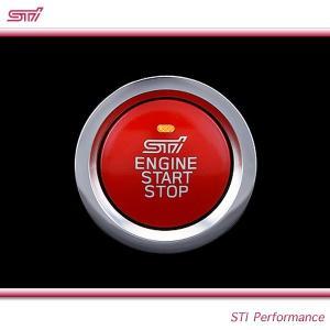 SUBARU スバル  STI パーツ WRX S4 型式 VA プッシュエンジンスイッチ ST83031ST040 キーレスアクセス&プッシュスタート装着車用 goldrush-store