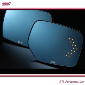 SUBARU スバル  STI パーツ WRX S4 型式 VA アンチグレア ドアミラー LED ST91039ST050|goldrush-store
