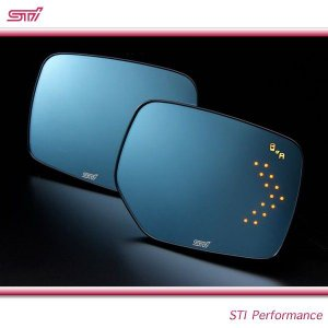 SUBARU スバル  STI パーツ フォレスター 型式 SJ アンチグレア ドアミラー LED [ASP/ESP SRVD対応] ST91039ST100|goldrush-store