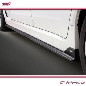 SUBARU スバル  STI パーツ インプレッサ 5ドア 型式 GR ( WRX STI ) サイドアンダースポイラー (GV/GR) ST96030ZR020|goldrush-store