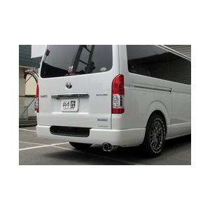 柿本 マフラー トヨタ ハイエース スーパーGL 4WD 〈LDF-KDH206V〉 T443127 goldrush-store