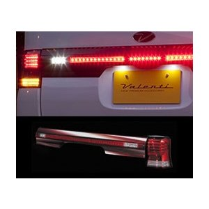 ヴァレンティ LEDテールランプ ハーフレッド L375 L385 タント タントカスタム TD375TNT-HC-1|goldrush-store