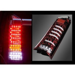 ヴァレンティ LEDテールランプ クリア レッドクローム N-BOX TH12NBX-CR-1|goldrush-store