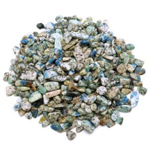 K2ブルー  天然石 さざれ石 100g カラコルム山脈産 パワーストーン 浄化グッズ 父の日