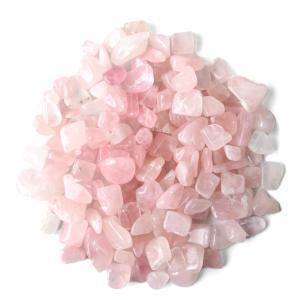 ローズクォーツ さざれ石 100g サイズ中 紅水晶  高品質  天然石 パワーストーン 浄化グッズ