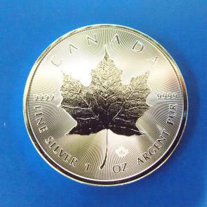 カナダ メイプルリーフ銀貨 1オンス 2017年|goldtohki