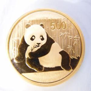 中国 パンダ金貨1オンス 2015年|goldtohki