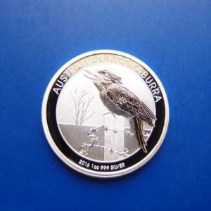 オーストラリア カワセミ銀貨1オンス 2016年|goldtohki