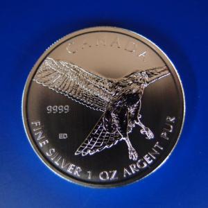 カナダ アカオノスリ銀貨 1オンス 2015年|goldtohki
