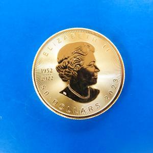カナダ メイプルリーフ金貨 1オンス   2017年|goldtohki