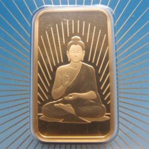スイス パンプ社製 純金1オンス 仏陀|goldtohki
