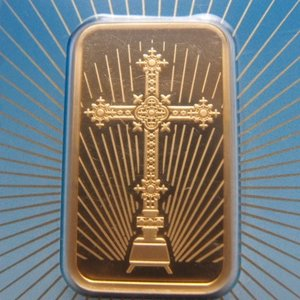 スイス パンプ社製 純金1オンス  インゴット クロスバー|goldtohki