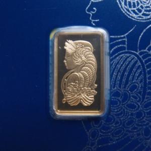 スイス パンプ社製 純金5gインゴット Fortuna |goldtohki