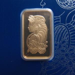 スイス パンプ社製 純金10g インゴット Fortuna|goldtohki